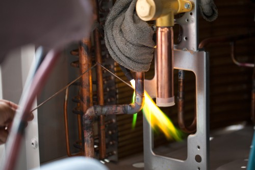 How Industrial Air Conditioning Brazing Works